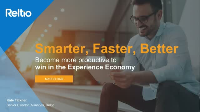 Get Smarter, Faster, Better to Win in the Experience Economy