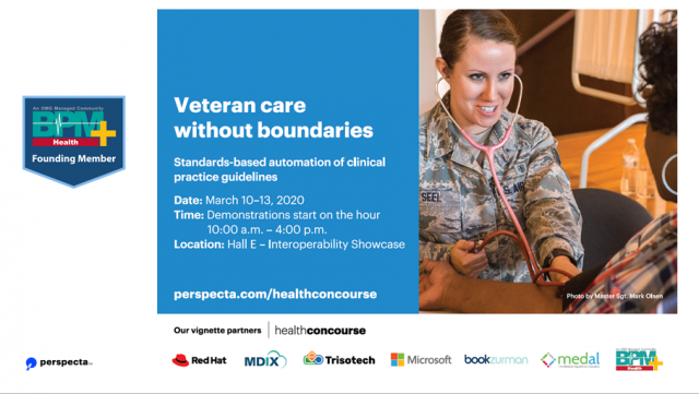 Veteran Care Without Boundaries - Implementing BPM+ models as software