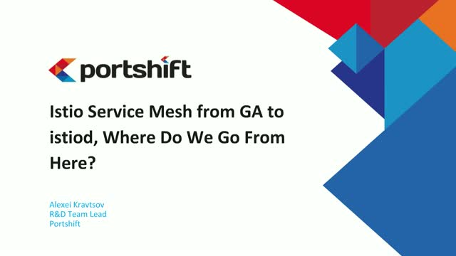 Istio Service Mesh from GA to istiod, Where Do We Go From Here