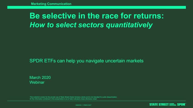 Be Selective in the Race for Returns: