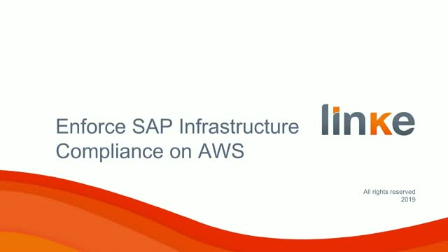 How to Enforce SAP Infrastructure Compliance on AWS