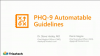 PHQ-9 Automatable Guidelines