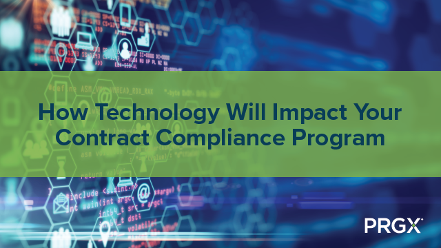 How Technology Will Impact Your Contract Compliance Program