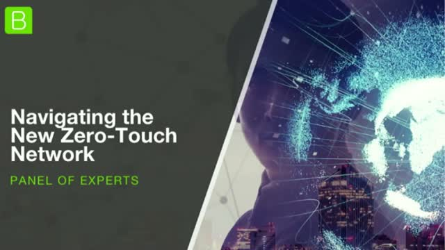 Navigating the New Zero Touch Network