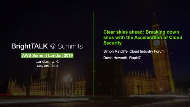 Clear skies ahead: Breaking down silos with the Acceleration of Cloud Security