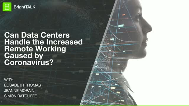 Can Data Centers Handle the Increased Remote Working Caused by Coronavirus?