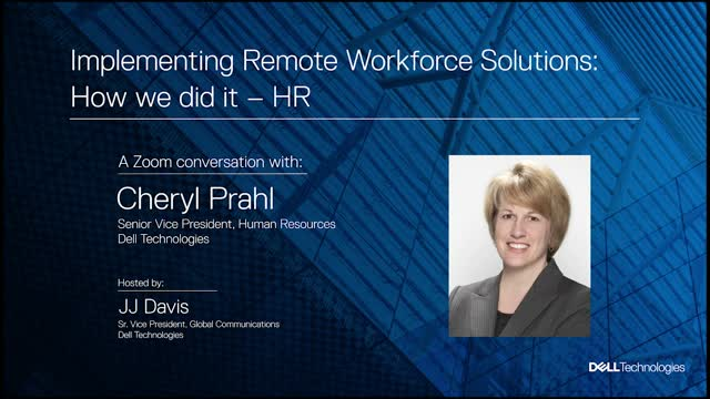 Implementing Remote Workforce Solutions: How We Did It - HR