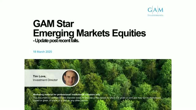 Out of adversity comes opportunity - GAM Emerging Markets Equity
