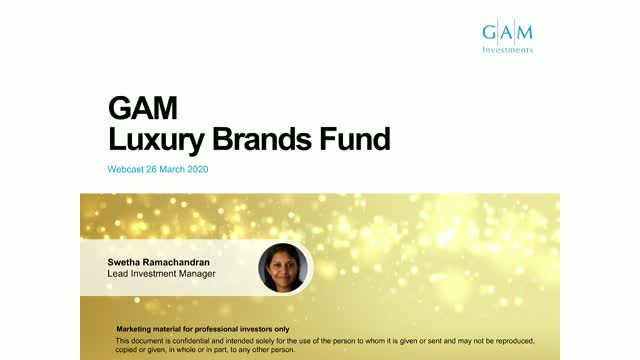 Luxury retains its structural appeal - GAM Luxury Brands Equity