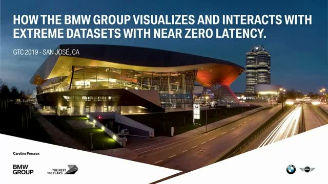 NVIDIA GTC 2019: How BMW Visualizes & Interacts with Extreme Datasets
