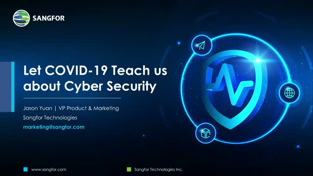 Let COVID-19 Teach us about Cyber Security