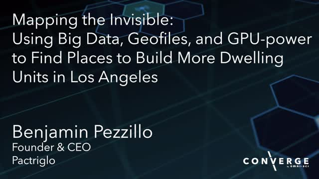 Mapping the Invisible: Using Big Data, Geofiles, and GPU-power to Build More...
