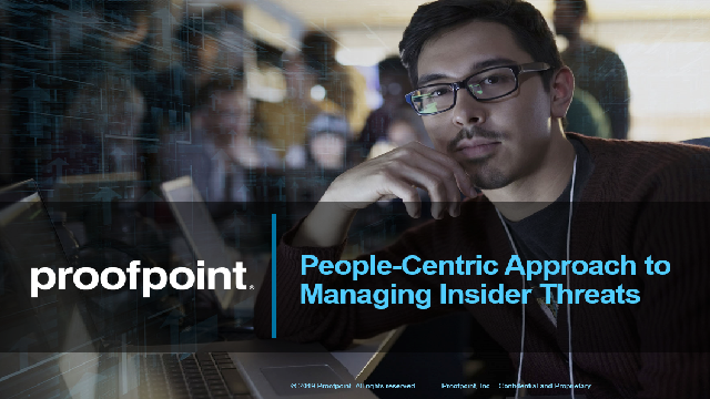 A People-Centric Approach to Managing Insider Threats