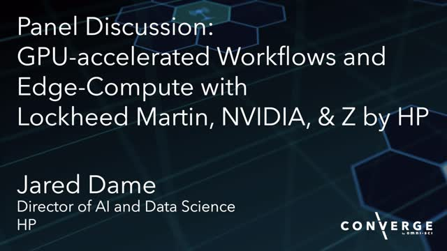 GPU-accelerated workflows & edge-compute with Lockheed Martin, NVIDIA & Z by HP
