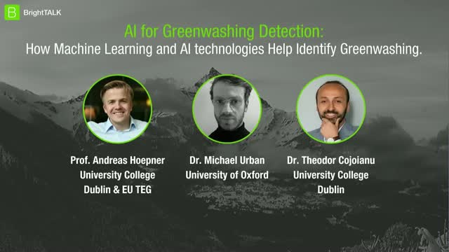 AI for Greenwashing Detection