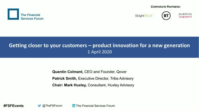Getting closer to your customers: product innovation for a new generation