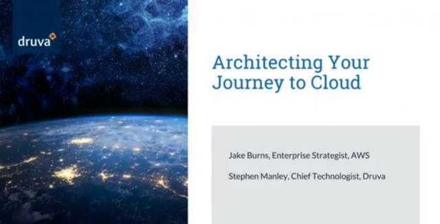 Architecting Your Journey to cloud