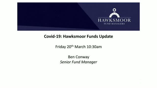 COVID-19: Hawksmoor Funds Update