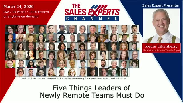 Five Things Leaders of Newly Remote Teams Must Do