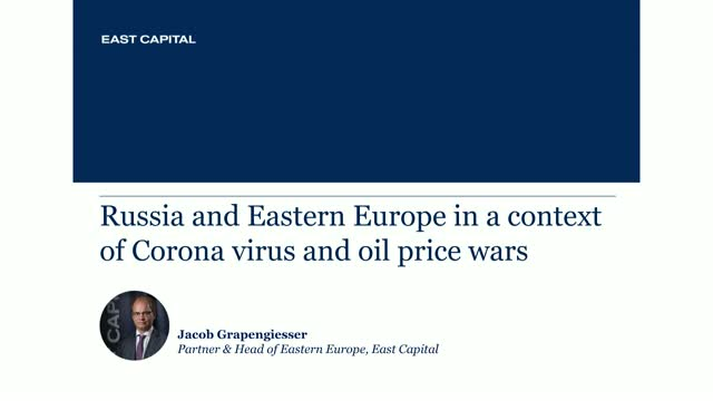 Russia and Eastern Europe in a context of Corona virus and oil price wars