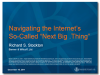 "New gTLD Conundrums: Strategies for Navigating the So-Called ""Next Big .Thing"""