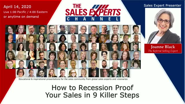 How to Recession Proof Your Sales in 9 Killer Steps