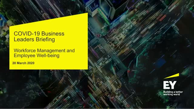 EY Business Leaders Webinar: Spotlight on workforce management and well-being