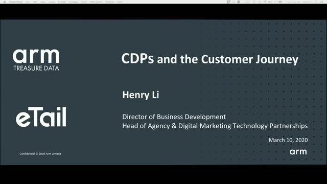 CDPs and the Customer Journey