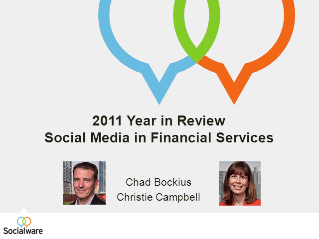 2011 Year in Review of Social Media in Financial Services
