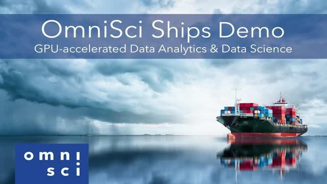 OmniSci US Shipping Demo