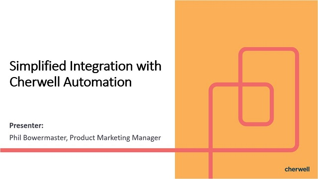 Simplified Integration with Automation