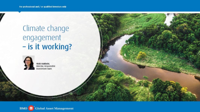 Climate change engagement - is it working?