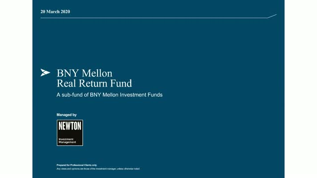 BNY Mellon Real Return Fund update