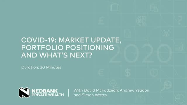 COVID-19: market update, portfolio positioning and what's next?