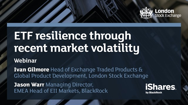 ETF resilience through recent market volatility
