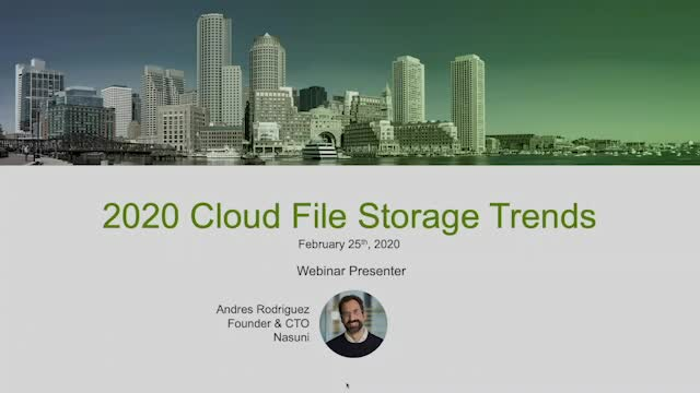 2020 Cloud Storage Trends