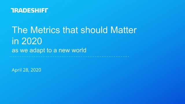The AP metrics that should matter in 2020 as we adapt to a new world