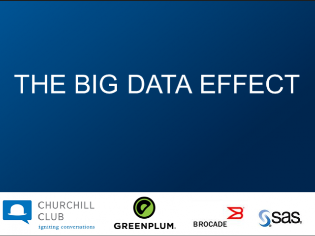Churchill Club presents The Big Data Effect