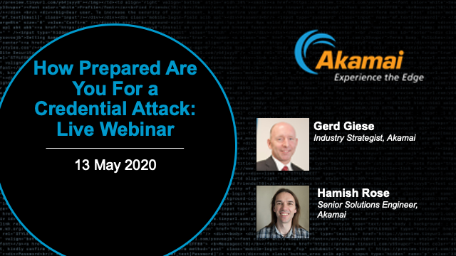 How Prepared Are You For a Credential Attack?