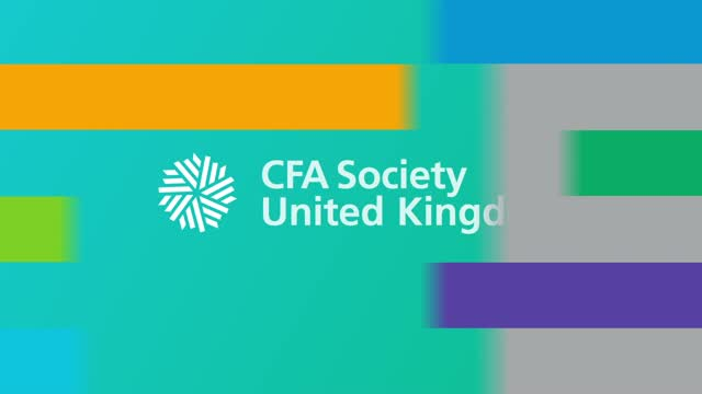 Integration of ESG: CFA UK Conference
