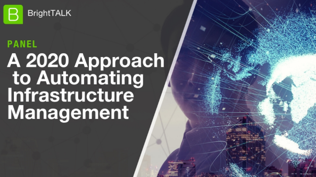 A 2020 Approach to Automating Infrastructure Management
