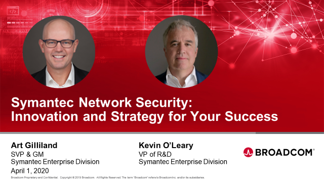 Symantec Network Security: Innovation and Strategy for Your Success