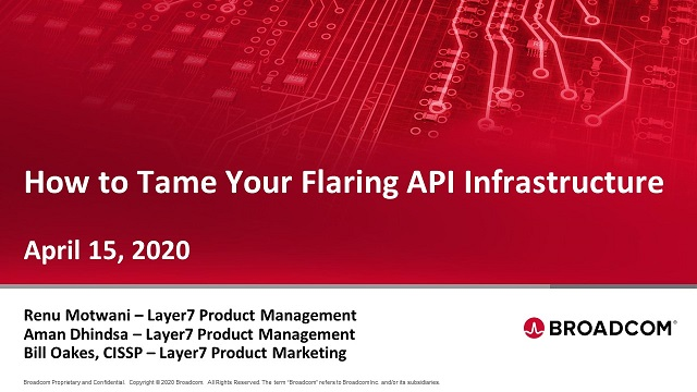 How to Tame Your Flaring API Infrastructure