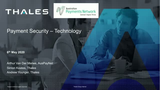 Payment Security – Impact of technologies