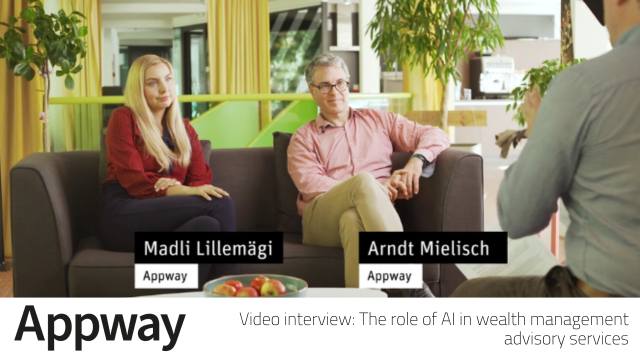 Interview with Appway: The role of AI in wealth management advisory services