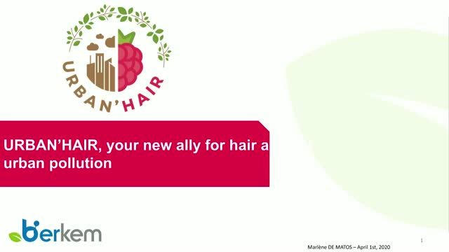 Urban'hair, your new ally for hair and scalp against urban pollution