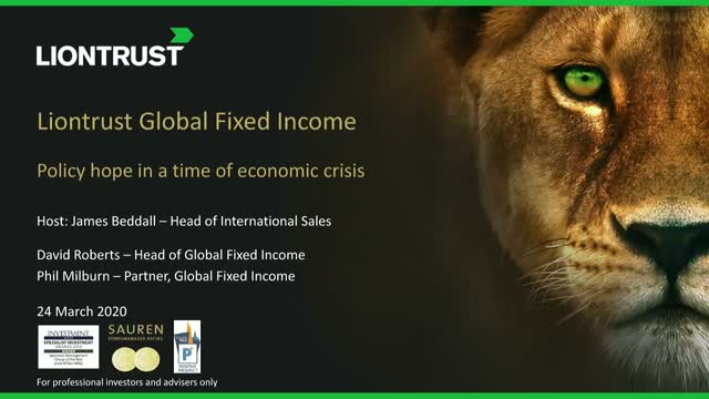 Liontrust Views - Hope in a world in crisis
