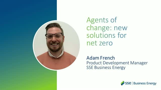 Agents of change: new solutions for net zero