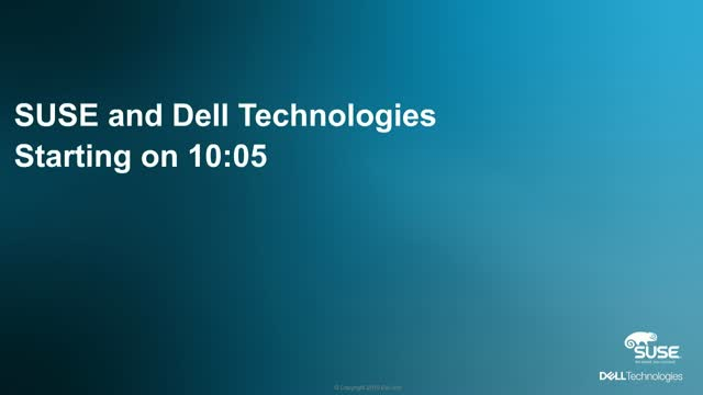 SUSE & Dell Technologies para Cloud Application Platform and Container as a Serv