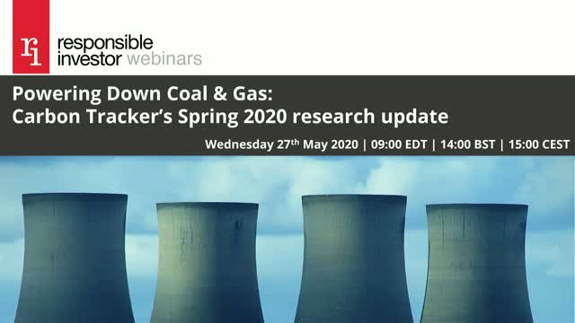 Powering Down Coal & Gas: Carbon Tracker's Spring 2020 research update